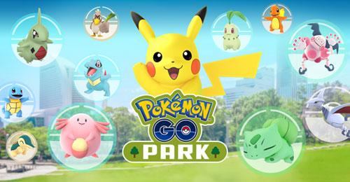 pokemon go park