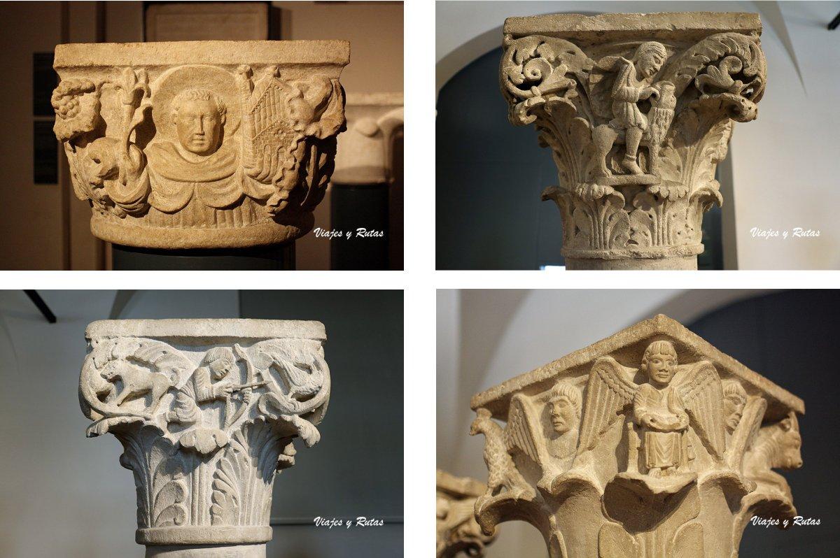Capiteles del Museo de Santa Giulia de Brescia