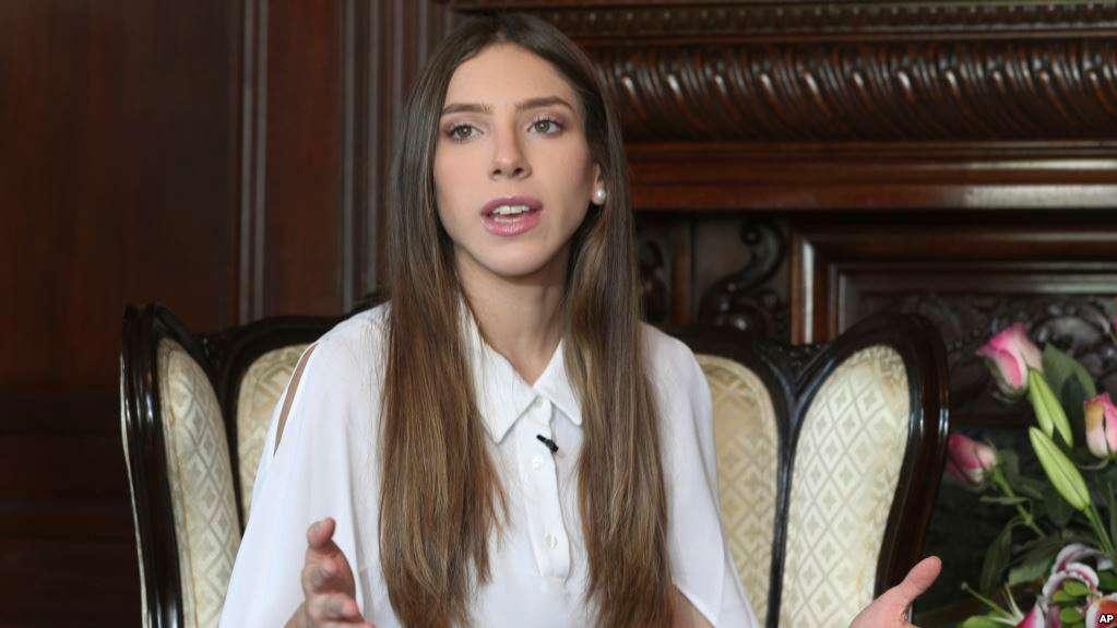 Fabiana Rosales estuvo en Perú y se entrevistó con su canciller / AP