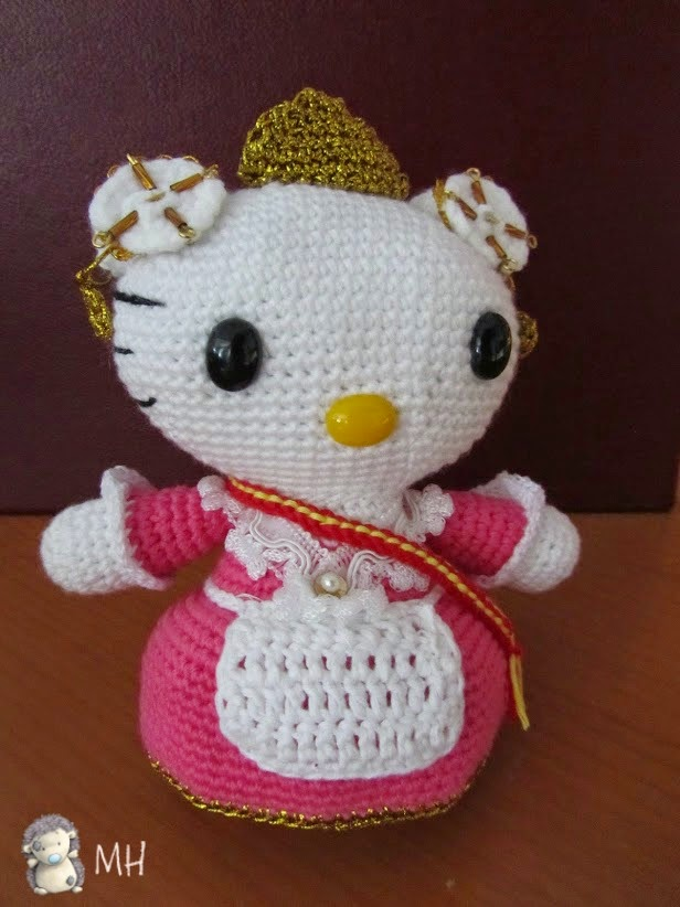 amigurumi Kitty fallera