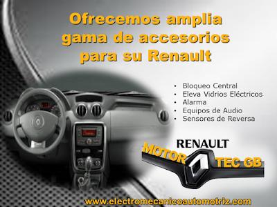Accesorios Motortec GB Taller Renault