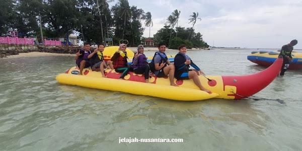 permainan water sport wisata private trip tidung