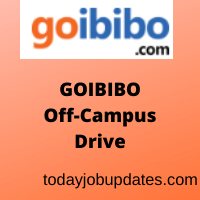 GoIbibo Off-Campus Recruitment Drive