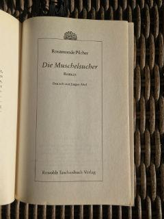 """niemieckie wydanie """"Poszukiwaczy muszelek"""" Rosamunde Pilcher, fot. paratexterka ©"""