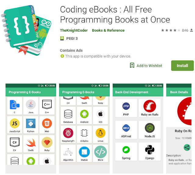 Coding ebooks