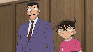 名探偵コナン アニメ 毛利小五郎   1017話 モノレール狙撃事件(後編)   Detective Conan Episode 1017