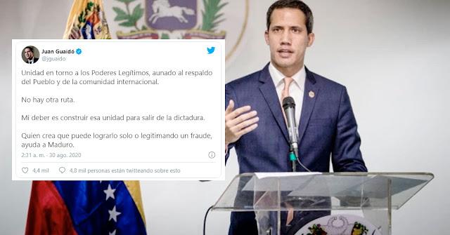 "Guaidó le responde dictatorialmente a Maria Corina diciendo ""No hay otra ruta"""