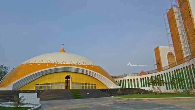 Masjid Agung Sultan Thaf Sinar Basarsyah Lubuk Pakam Deli Serdang