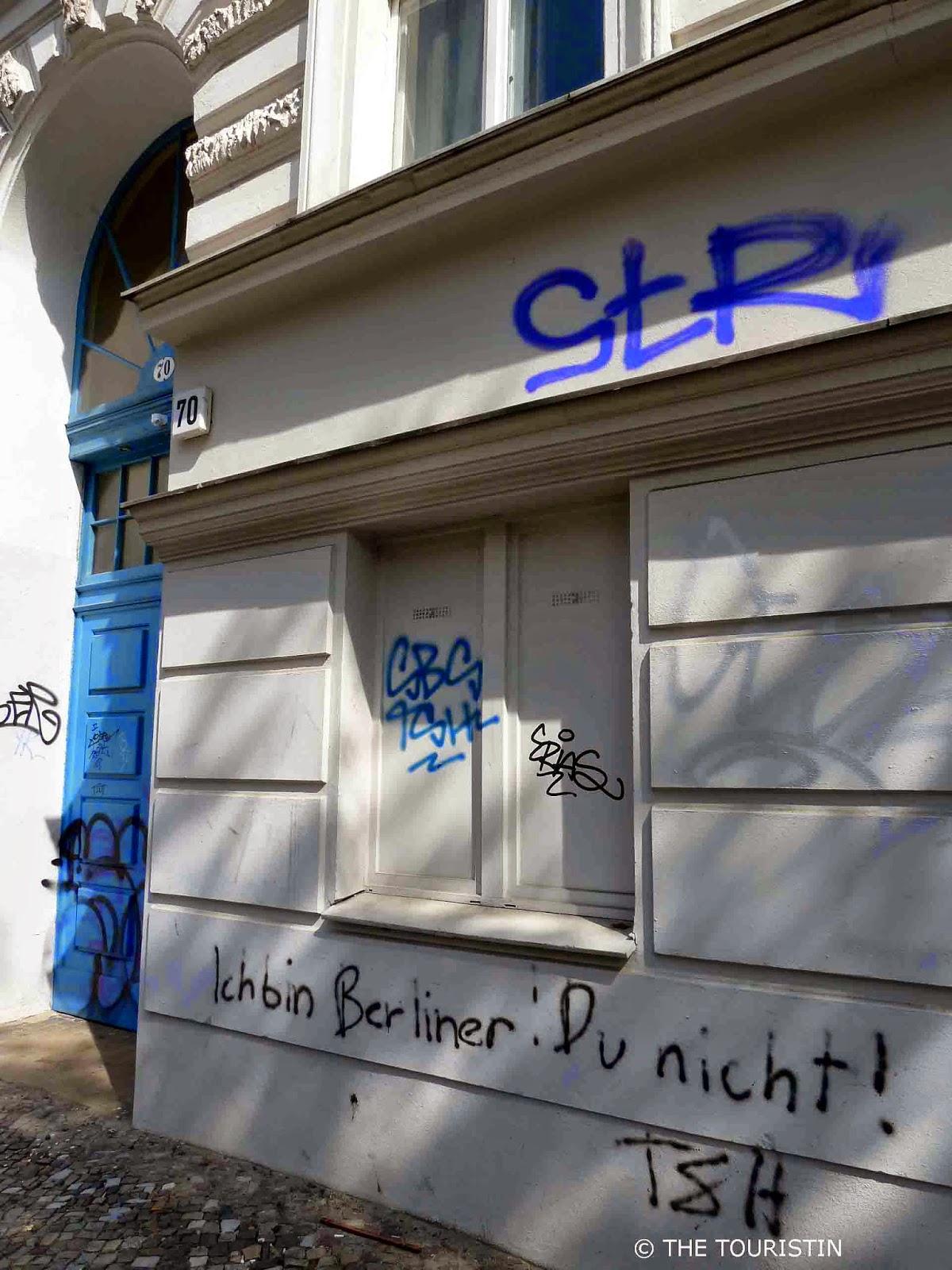 Ich bin Berliner. Du nicht!