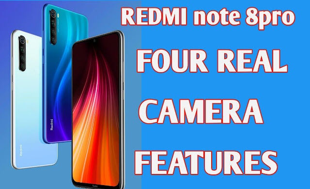 Redmi note 8 pro 64 megapixel real Camera features