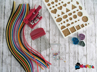 kit base per quilling
