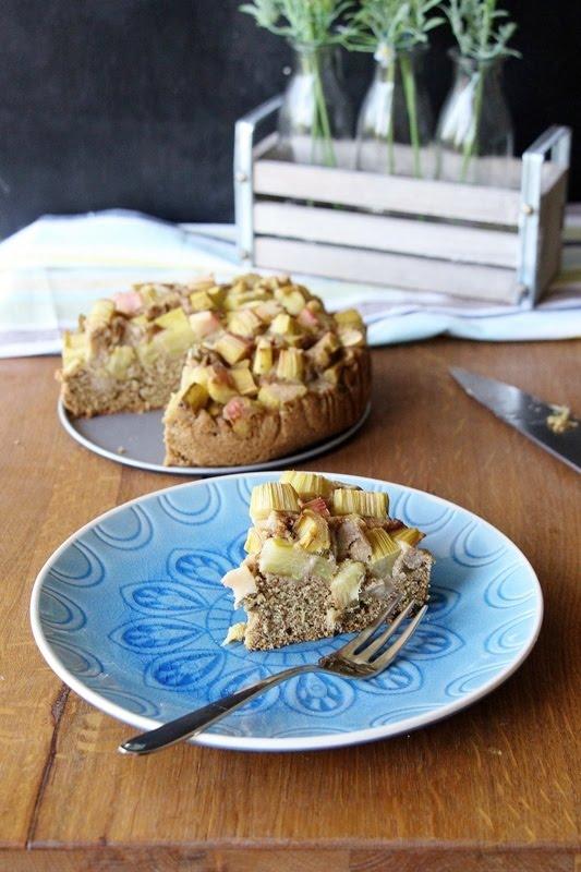 Rhabarber - Kokos -Kuchen