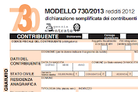 Modello 730 2013 compilabile