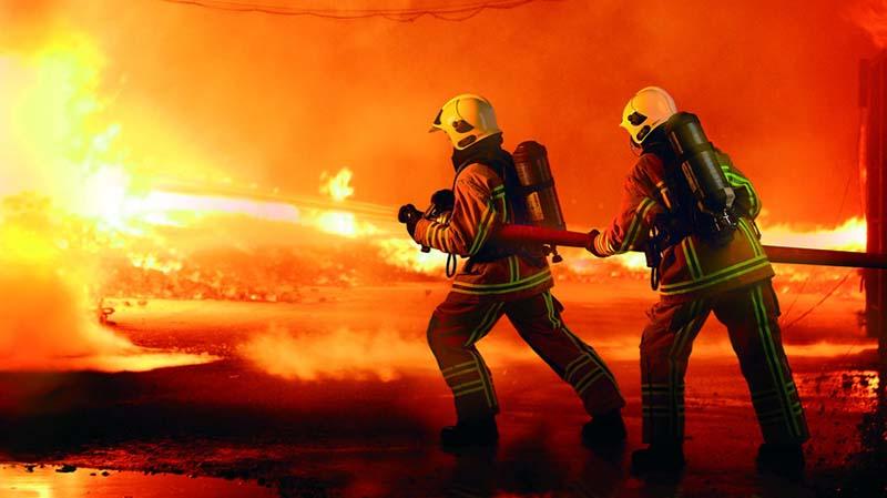 SPBU Shell di Daan Mogot Terbakar Hebat