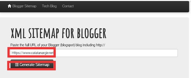 Cara membuat sitemap blogspot yang baik dan benar.