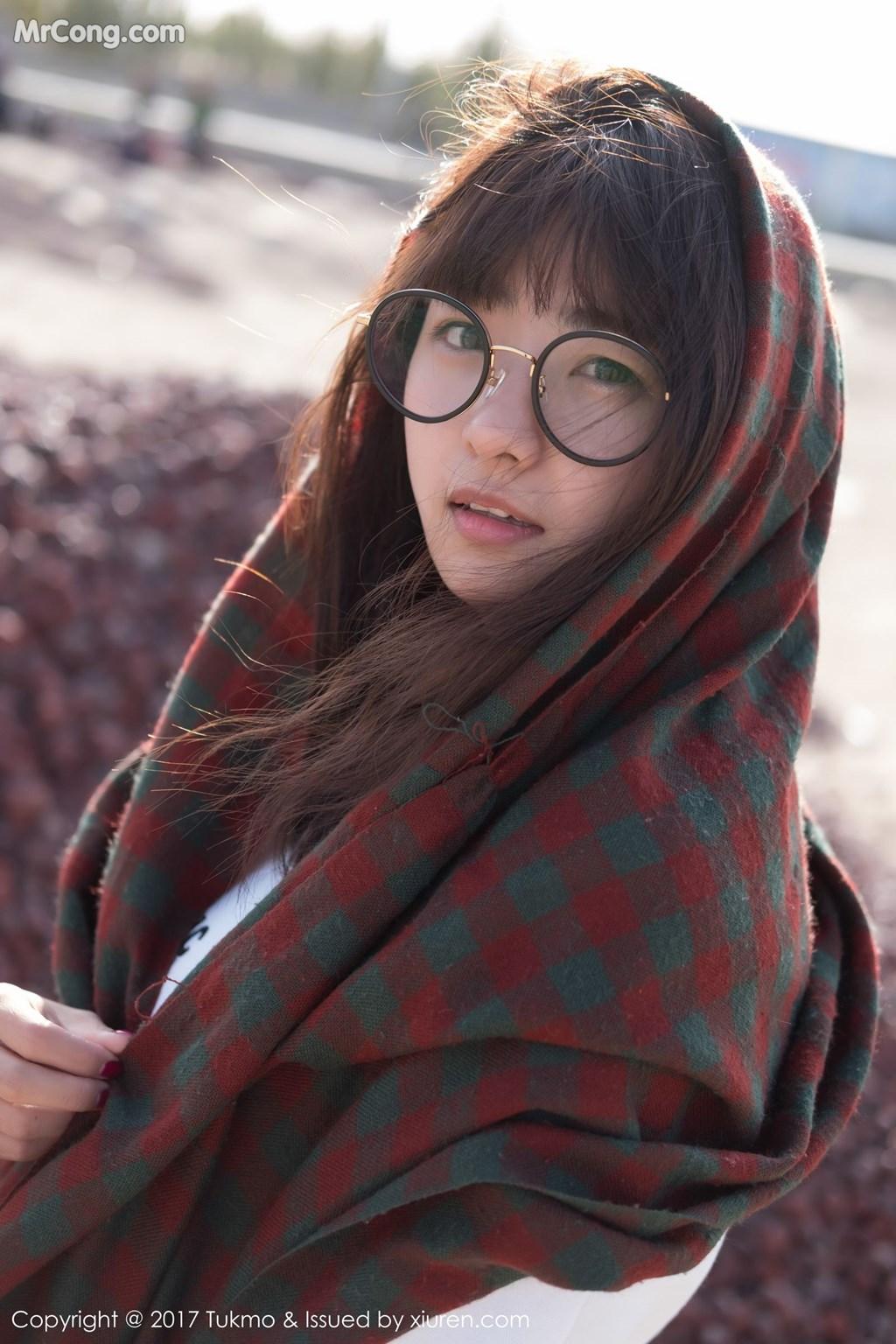 Image Tukmo-Vol.105-Qiu-Qiu-MrCong.com-003 in post Tukmo Vol.105: Người mẫu Qiu Qiu (球球) (41 ảnh)