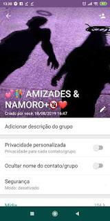Amizade e Namoro +18 - Grupo de WhatsApp de Amizade