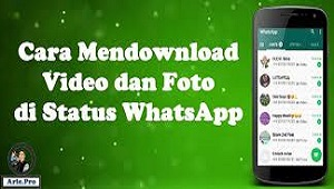 Cara Download Status/Story Whatsapp