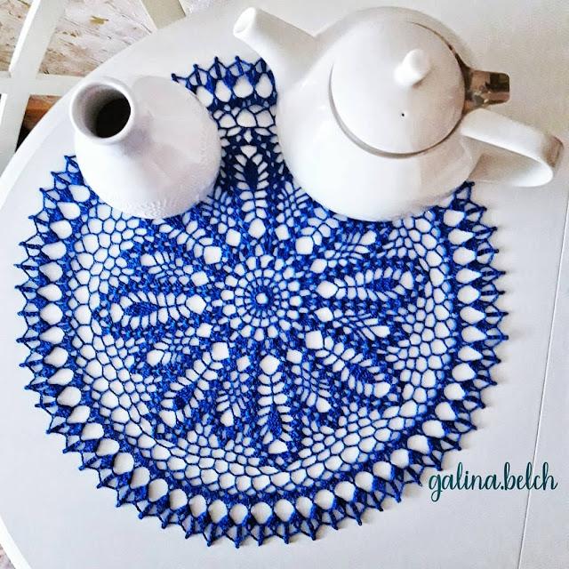 Toalhinha Azul Fofa