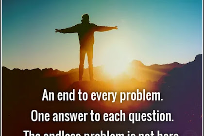 An end to every problem