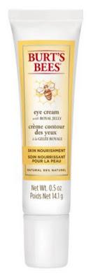 Eye Love Wednesday - Burt s Bees Skin Nourishment Eye Cream