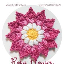 Rosa Flower (FREE Crochet Pattern)