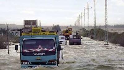الارصاد تصدم المواطنين فى هذه المحافظات  وتعلن عن سقوط امطار غزيرة وتصل للسيول على هذه المحافظة
