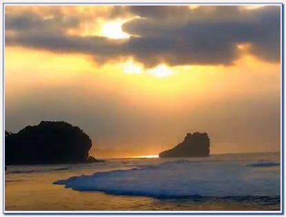 Wisata Pantai Pulodoro Malang Selatan