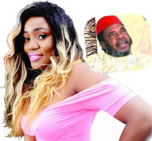 I want to marry Pete Edochie - Nollywood actress Blessing Brown
