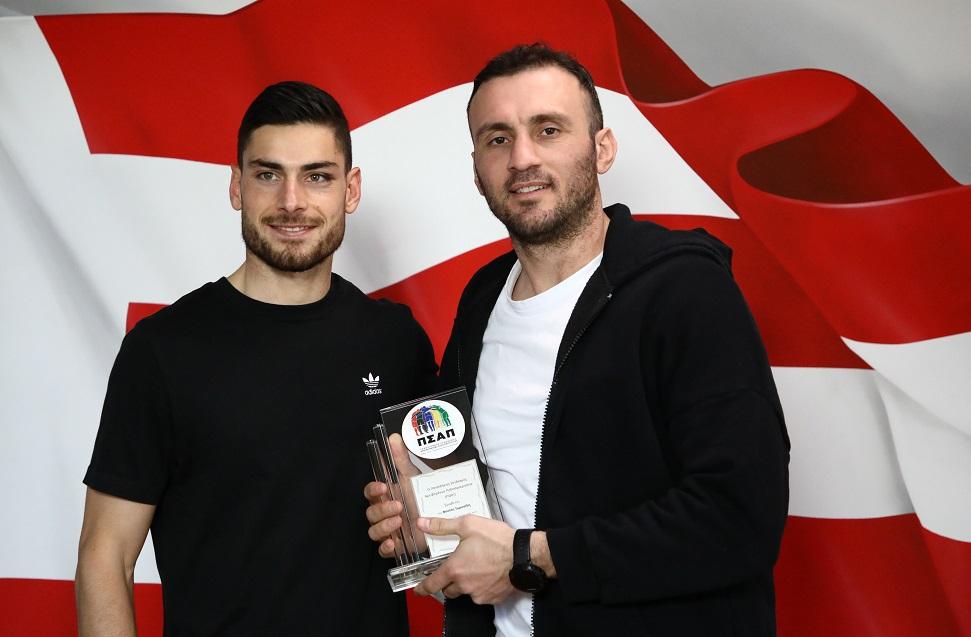 ΠΣΑΠ: Βραβεύτηκε ο Τοροσίδης για την προσφορά του στο ποδόσφαιρο