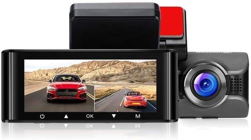Review WonVon W4K Dual Dash Cam UHD Car Camera