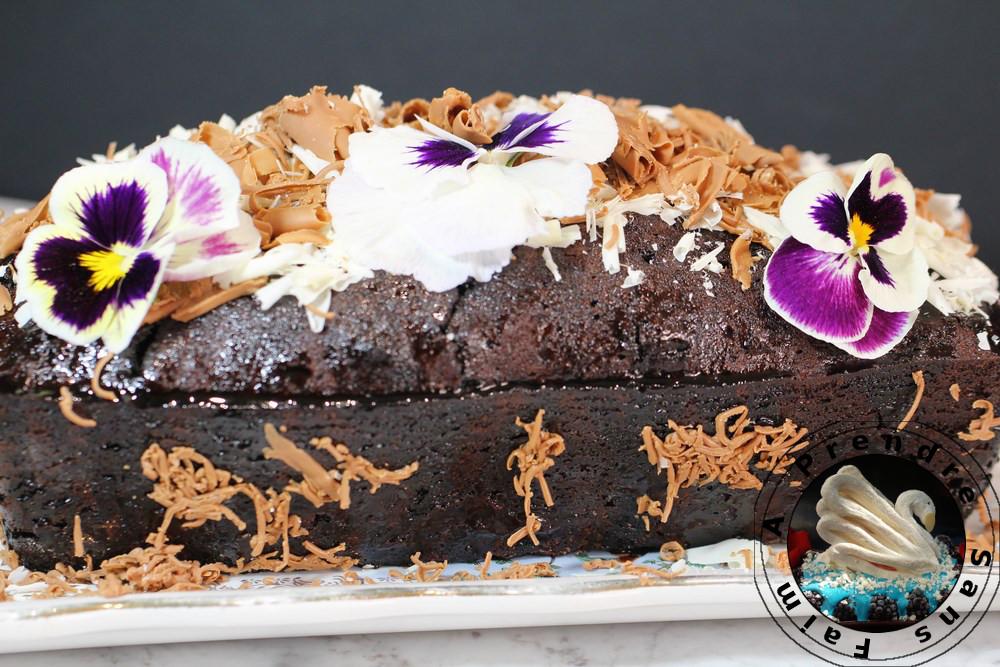 Cake tout chocolat
