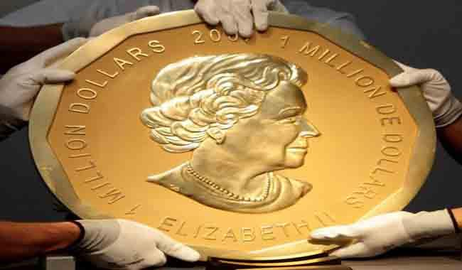 4 million $ worth's Gold coin stolen from Berlin museum