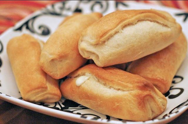 Crescent Mozzarella Sticks #appetizers #recipe