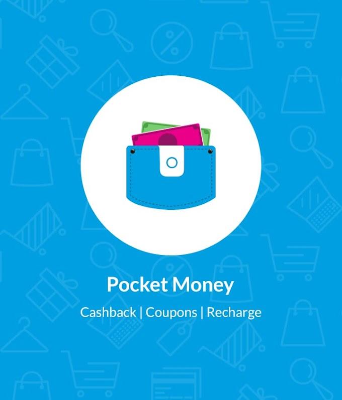 Pocket Money App - Get Rs.5 + Rs.20/Refer Earn Unlimited Cash