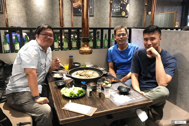 布蘭特大叔的環島旅行 - 韓國燒肉咚豬咚豬