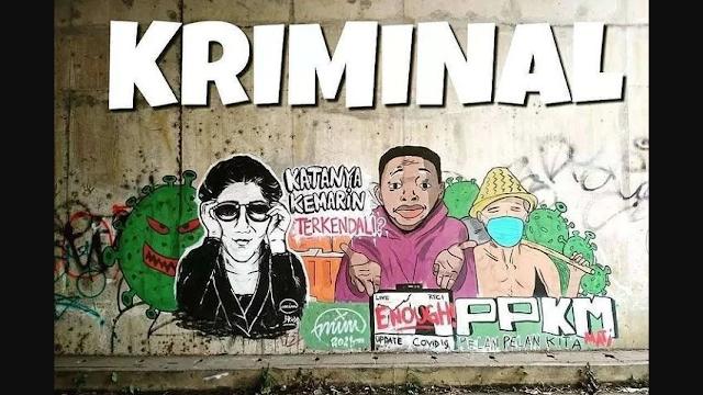 Mural Kian Menjamur, Pengamat: Masyarakat sedang Gelisah dan Kecewa kepada Pemerintah