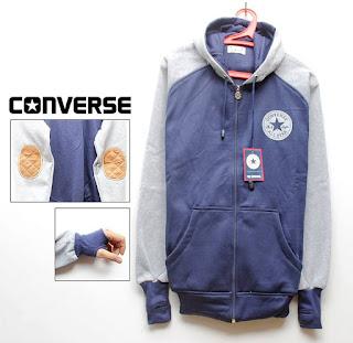 Jaket Converse Fleece Hoodie - Converse CON010