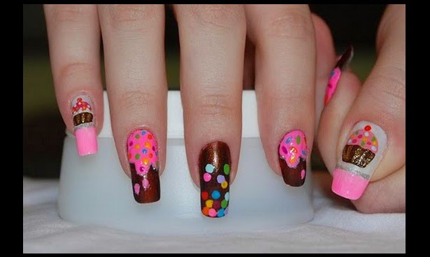 Imagenes con diseños de dulces para uñas - lindos decorados de uñas para ver gratis