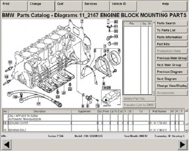 BMW Workshop Service Repair Manuals TIS WDS EPC ETK ETM