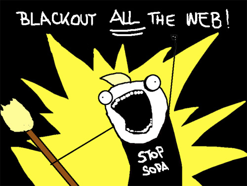 SOPA in US and Censorship in India: A cocktail to destroy Internet Freedom !