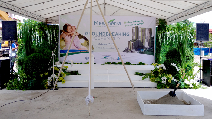MesaTierra Garden Residences Ground Breaking Ceremony