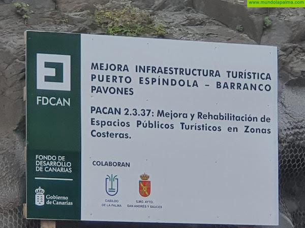 CC de San Andrés y Sauces advierte del riesgo por la nula seguridad en la obra que se está ejecutando entre Puerto Espíndola y el Charco Azul