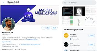 6 Akun Twitter Yang Wajib di Follow Oleh Trader Crypto Currency