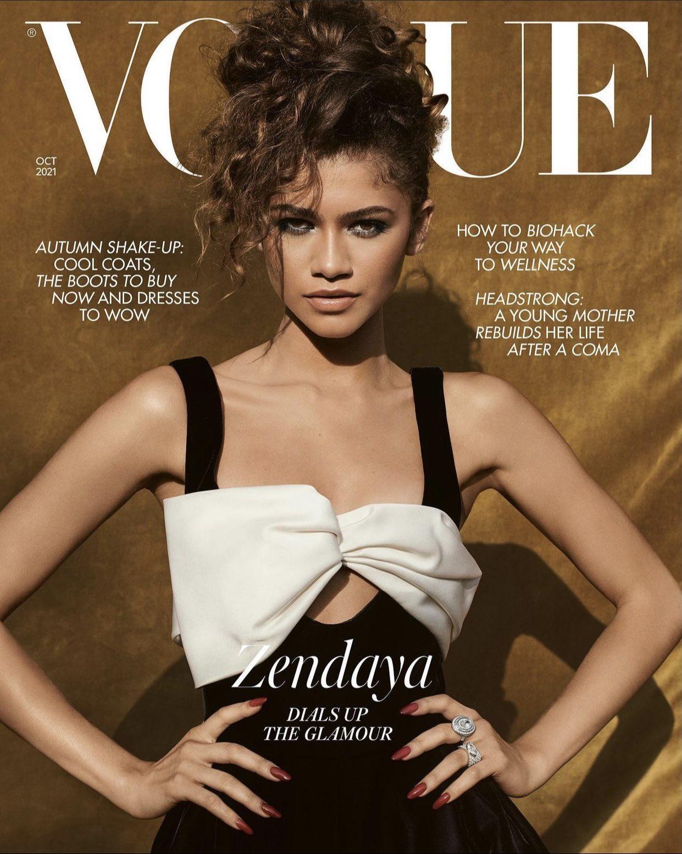 Zendaya Is British Vogue's October 2021 Cover Star
