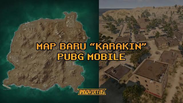 Map baru PUBG Mobile, Karakin