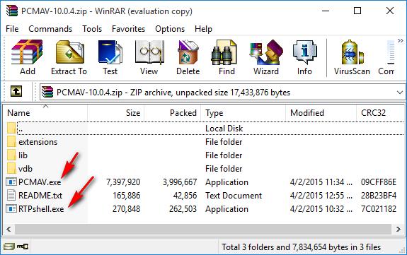 Cara install antivirus PCMAV
