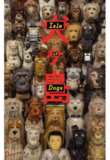 Wes Anderson Isle of Dogs Movie Poster