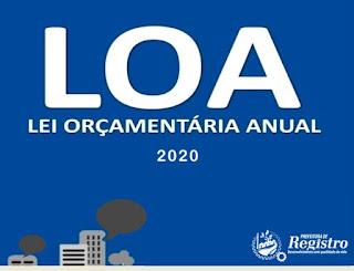 Audiência Pública para elaboração e discussão da Lei Orçamentária Anual 2020 será realizada em setembro