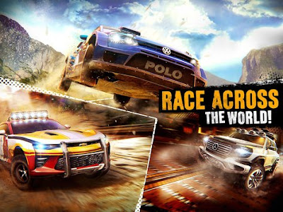 Rally Racing MOD APK v1.6.0l Full Hack Original Version Terbaru 2017 Gratis